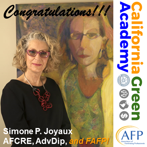 CalGreen Congratulates Simone P. Joyaux, Honored as an AFP Distinguished Fellow