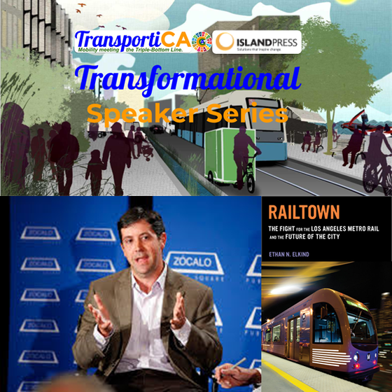 "TransportiCA and Island Press Launch the ""Transformational Speaker Series"""