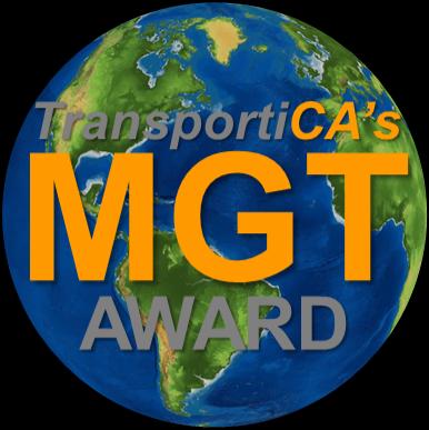 Ministry of Global Transport Award