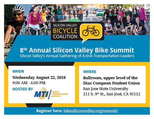 TransportiCA Reporting on the 8th annual Silicon Valley Bike Summit