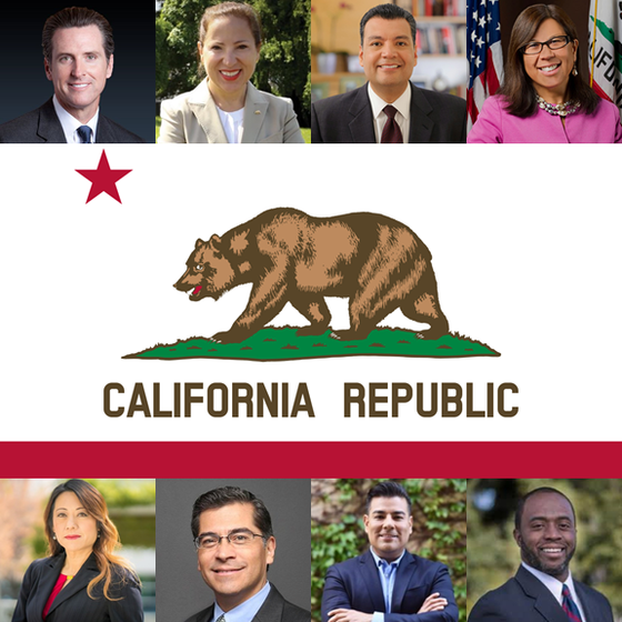 CalGreen Welcomes California's New Constitutional Officers*