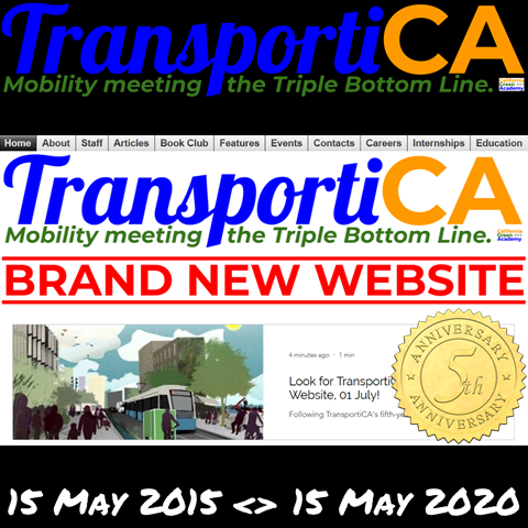 TransportiCA celebrates its Fifth Anniversary!