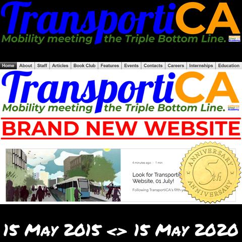 TransportiCA celebrates its Fifth Anniversary!