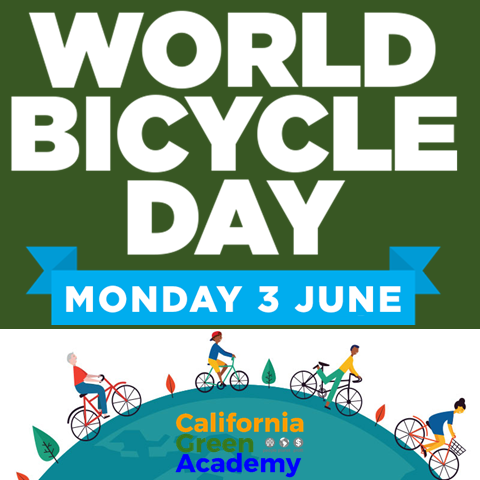 "CalGreen / TransportiCA Celebrate ""World Bicycle Day"""