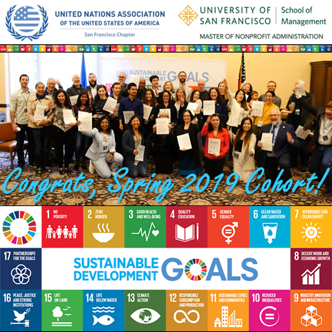 CalGreen Congratulates the Young Professionals for Sustainable Development Goals' Spring 2019 Co
