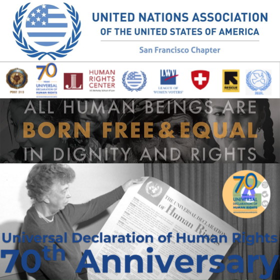 "CalGreen to Celebrate ""Human Rights Day"" and the Universal Declaration of Human Rights&#39"