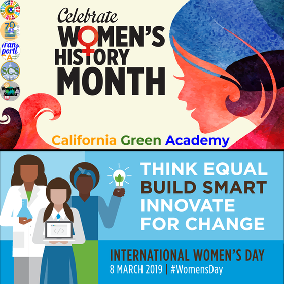 CalGreen's Celebration of Women's History Month and International Women's Day