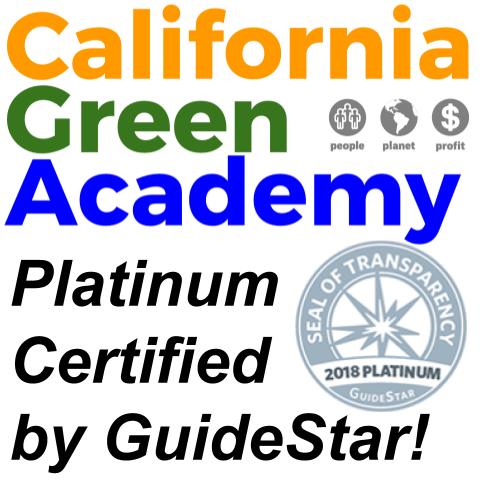 "CalGreen Earns GuideStar's ""Platinum"" Certification"