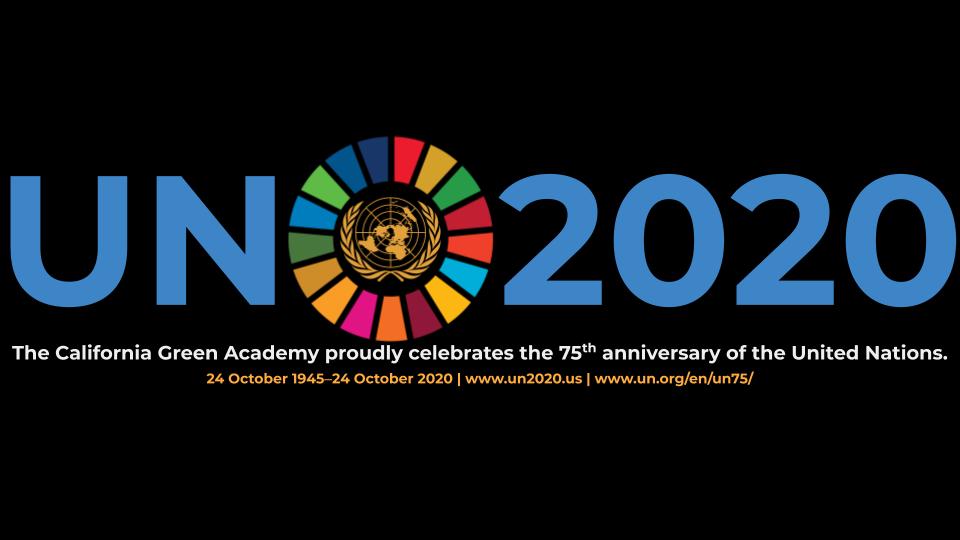 CalGreen's UN2020 Campaign