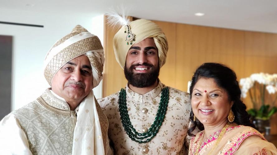Hindu Style Turbans