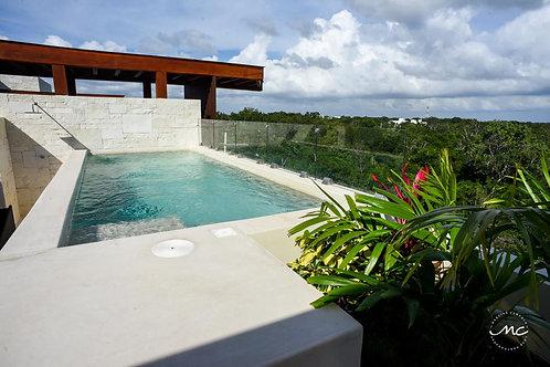 Penthouse con piscina privada en Tulum
