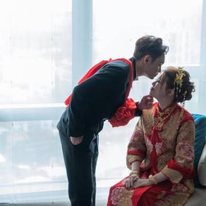[新板希爾頓飯店] 婚禮紀錄 | 奕安+彥棠
