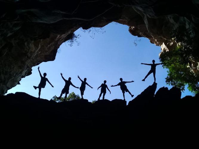 gruta do castelo