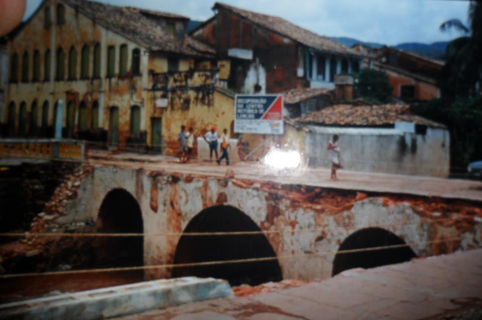 Ponte de Lençóis antigamente