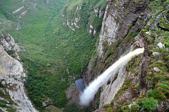 Cachoeira da Fumaça por Cima - Vale do Capão