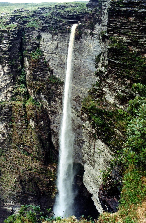 Cachoeira da Fumaçá, segunda mais alta do Brasil