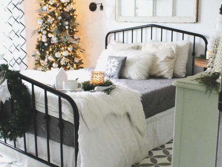 Cozy Christmas Bedroom