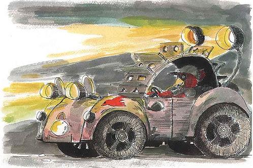 Birley's car