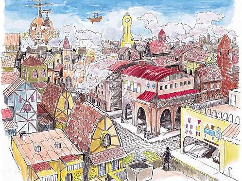 City View (16 x 20)