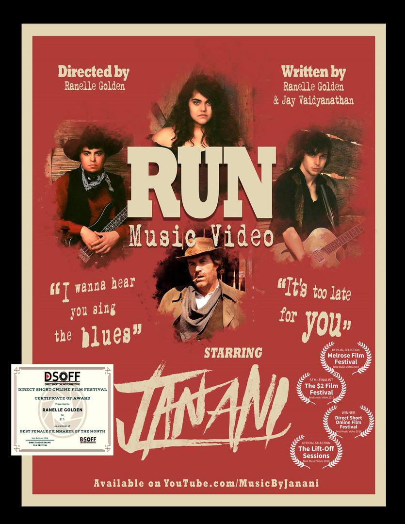 "RUN ""Music Video"""