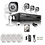 Thumbnail: ZMODO 4CH 720P HD PoE NVR Camera System with 4 x 720P HD Indoor/ Outdoor