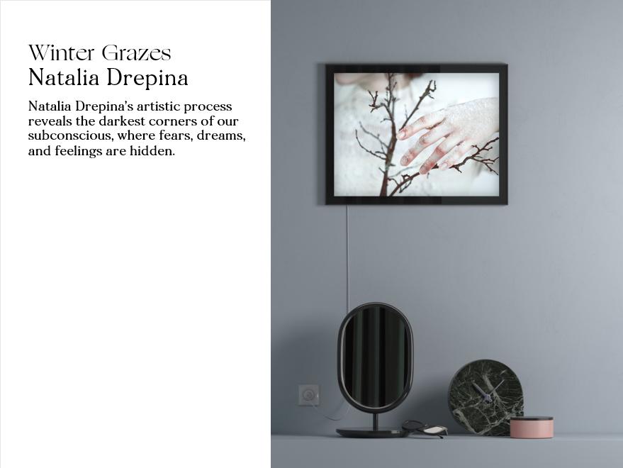 Winter Grazes by Natalia Drepina