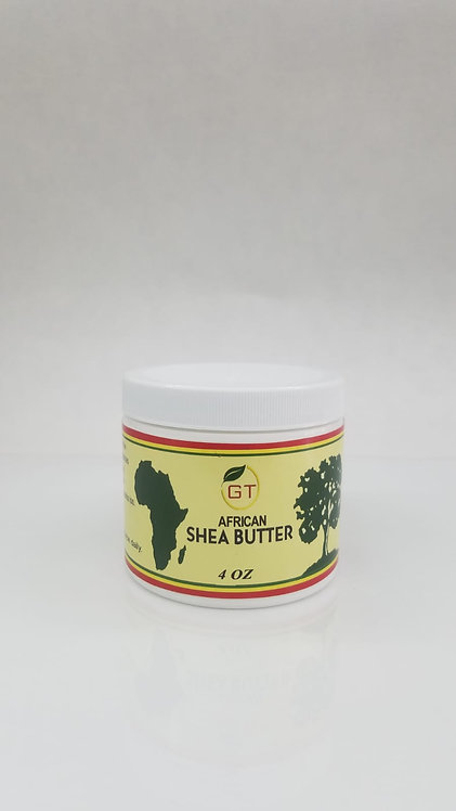 4 0Z GT AFRICAN SHEA BUTTER