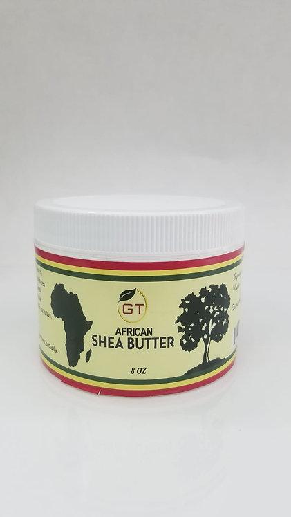 8 0Z GT AFRICAN SHEA BUTTER