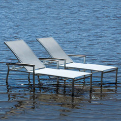 St. Tropez stackable chaise