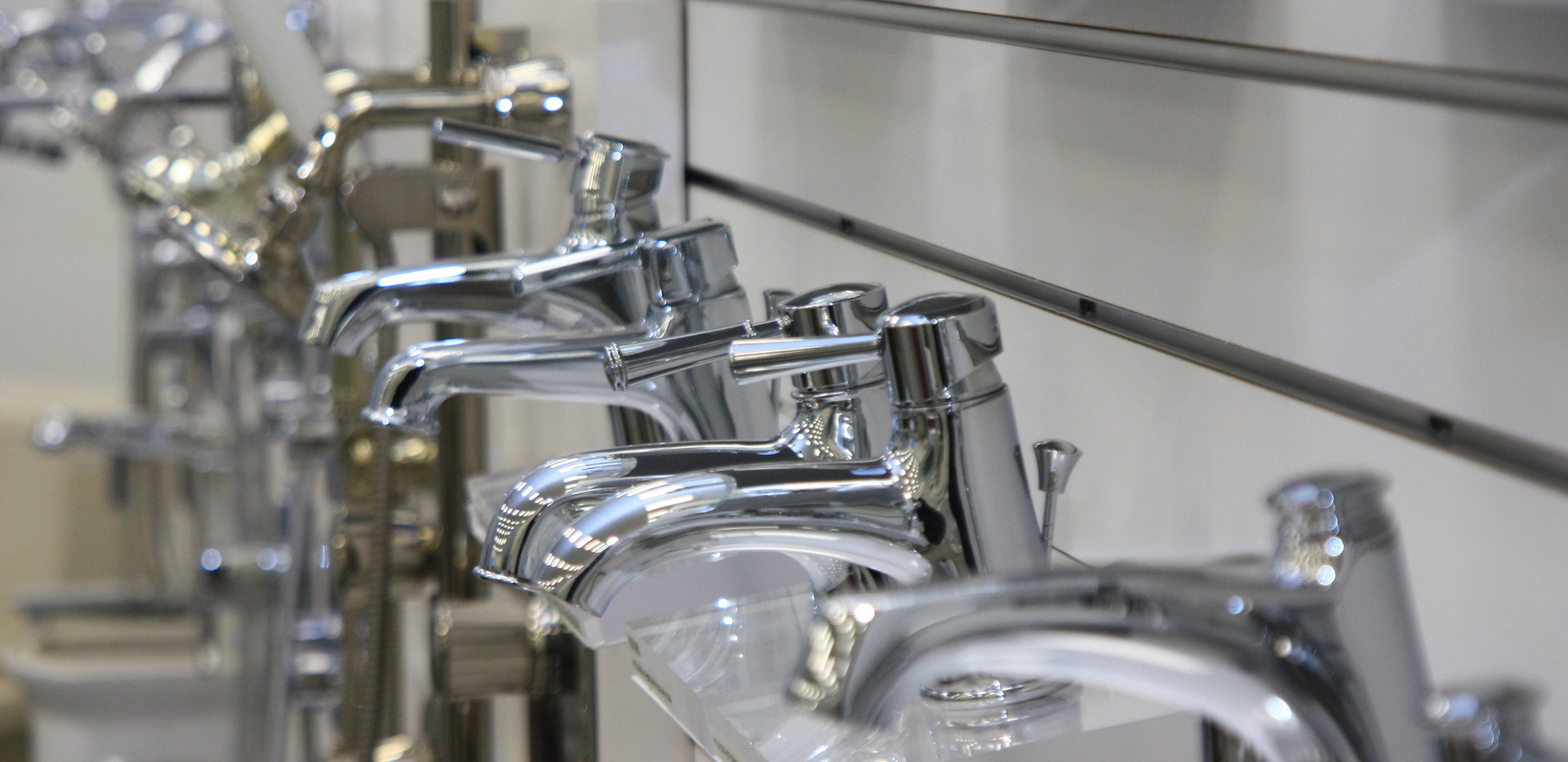 Faucets area