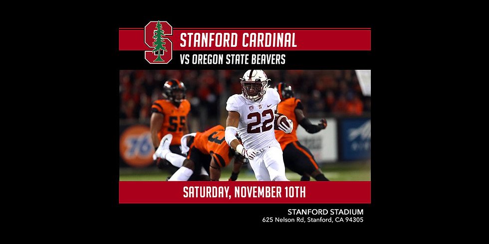 Stanford vs. Oregon State Football Game & Tailgate Party