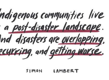 Roundtable: How Indigenous communities respond to disasters