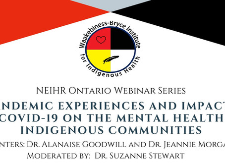 Covid-19 and Indigenous mental health