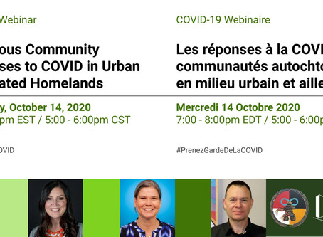 Indigenous Community Responses to Covid in Urban and related homelands