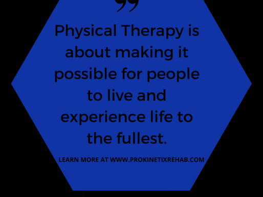 How is Physical Therapy beneficial? 