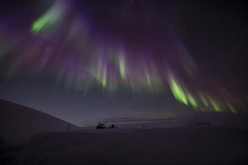Northern Lights / Longyearbyen,Svalbard