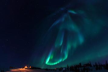 Northern Lights / Fairbanks, Alaska
