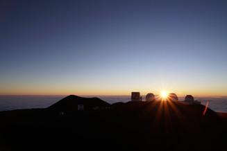 Sunset / Maunakea, Island of Hawaii