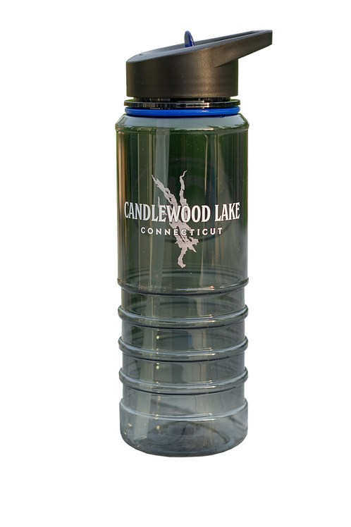 Candlewood Lake 24 oz. Gripper Bottle with Straw