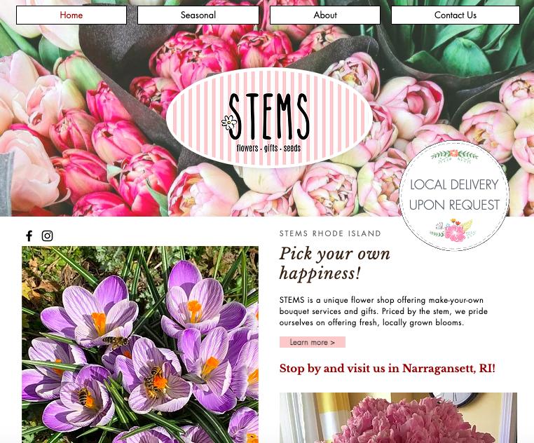 [Copywriting] STEMS Flower Shop