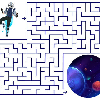 Maze #1 (Send Jetson Into Space)
