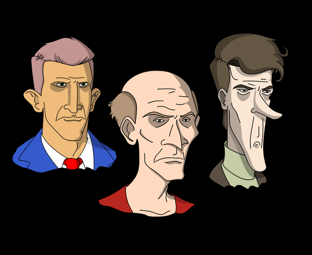 Character Heads #1
