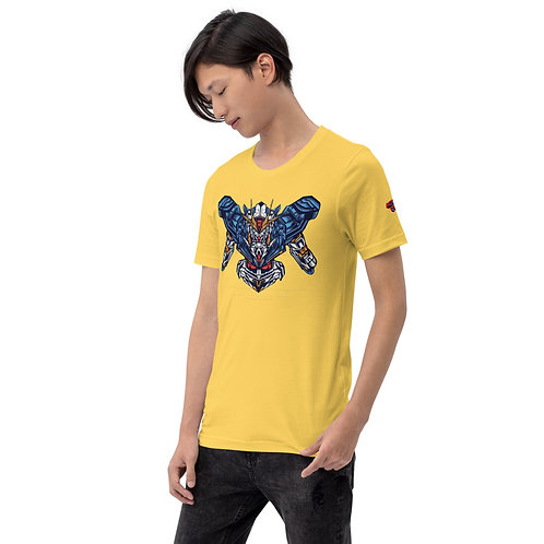 Gundam-Style Anime Mech Unisex T-Shirt
