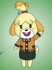 Isabelle from Animal Crossing