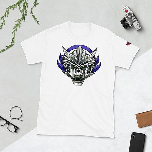 Gundam-Style Anime Mech Head T-Shirt