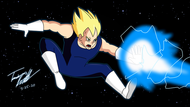 Super Saiyan Vegeta from DragonBall Z