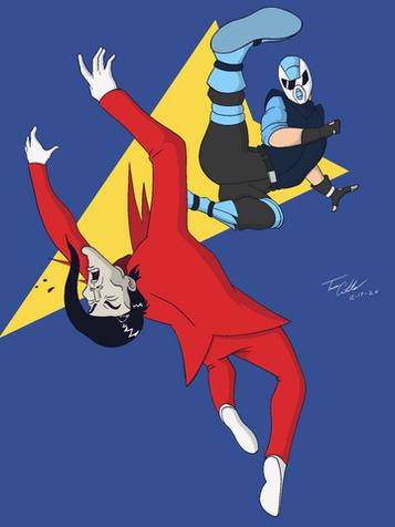 Jetson Kicking Raven