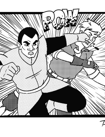 Empire Punching Jetson