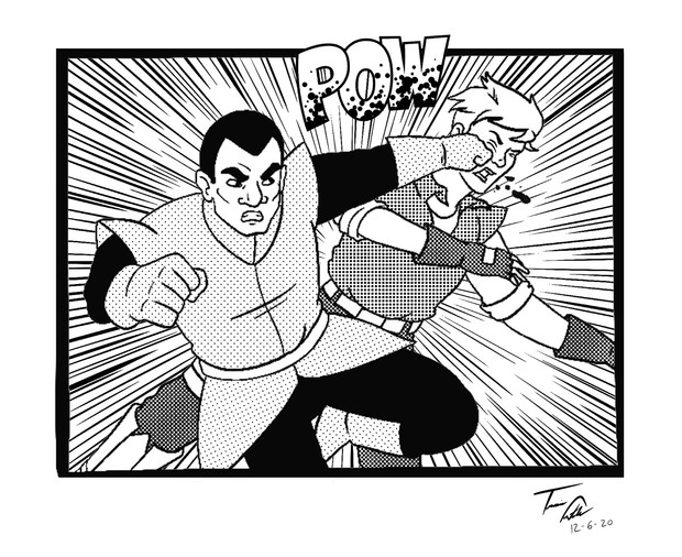 Empire Punching Jetson