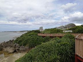 人影のない海洋博公園